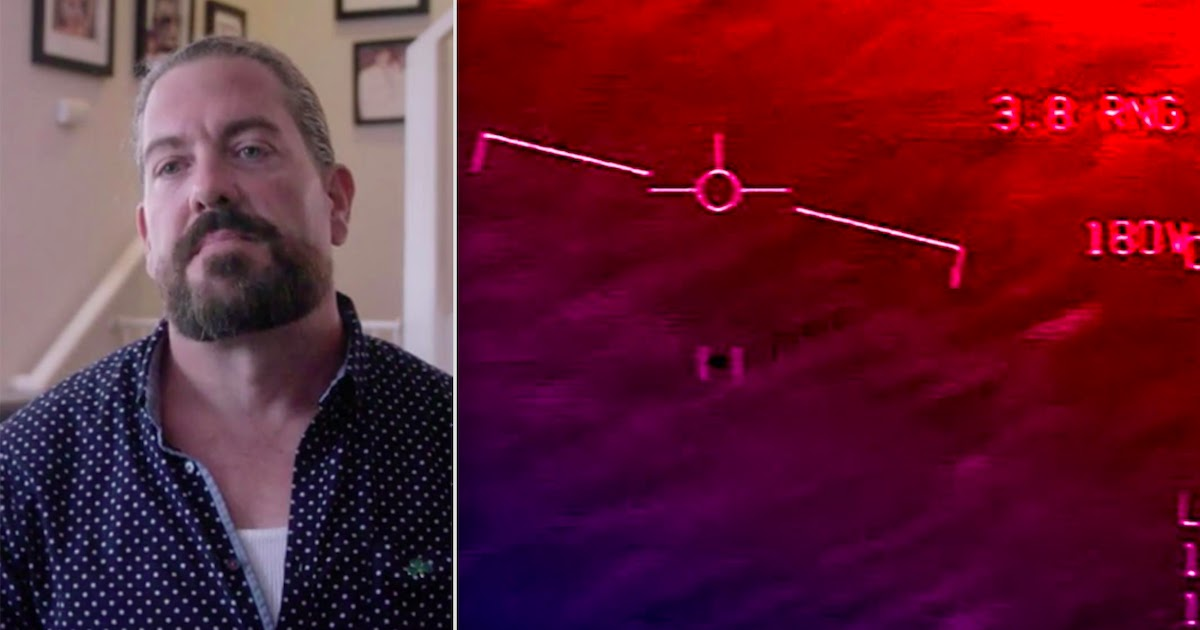 Former US Navy Pilot Reports Witnessing UFOs With Technology 100 To 1000 Years Ahead Of Our Own