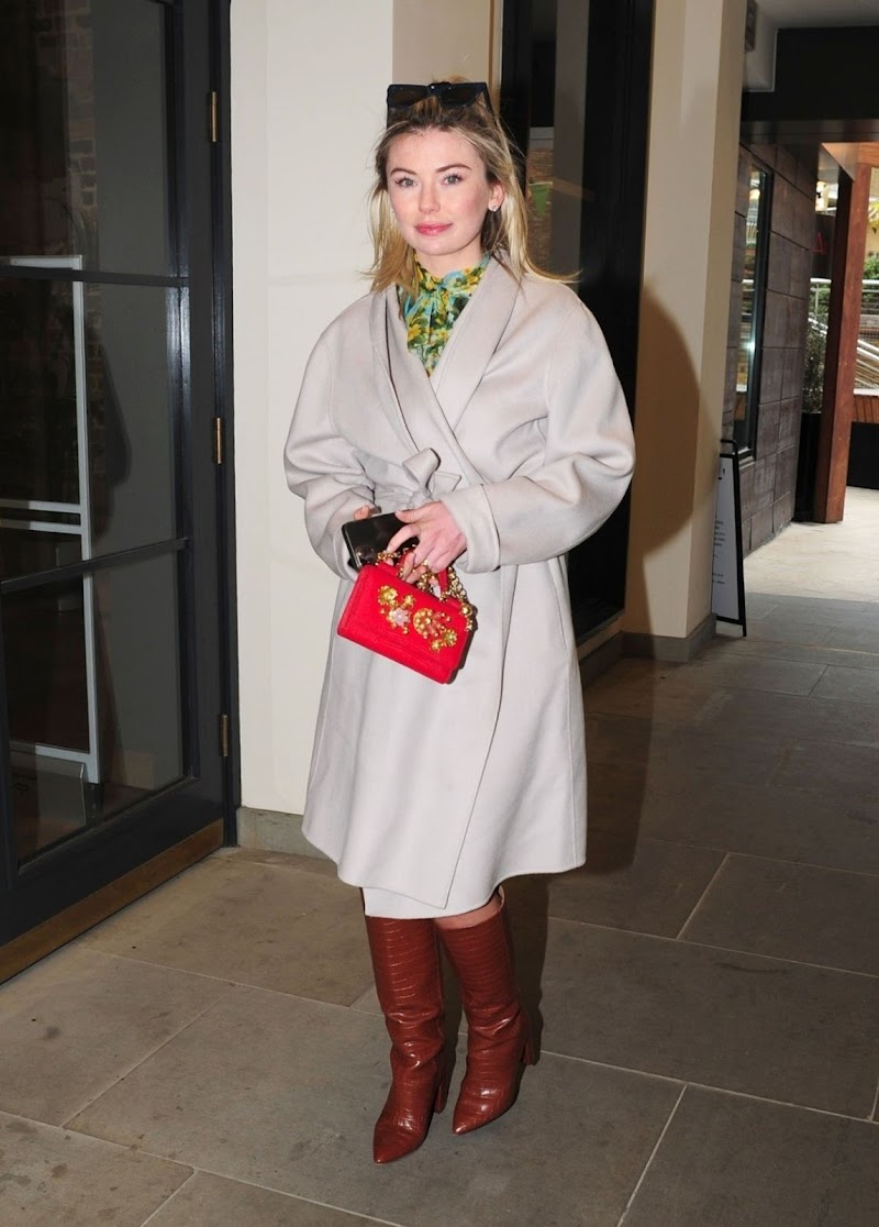 Georgia Toffolo Clicked Outside and in London 14 Apr-2021