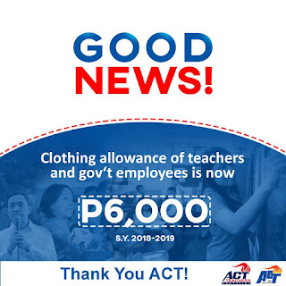 6k Clothing allowance now has Release Date