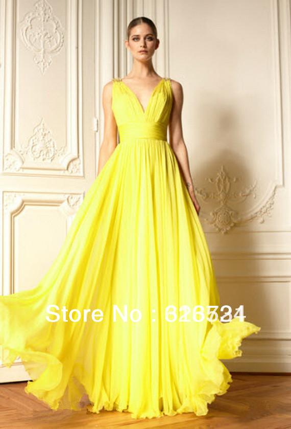 Vestido De Noiva Amarelo Ou Dourado Noiva Com Classe