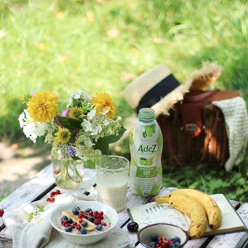 Wakacyjne śniadanie-roślinna owsianka
