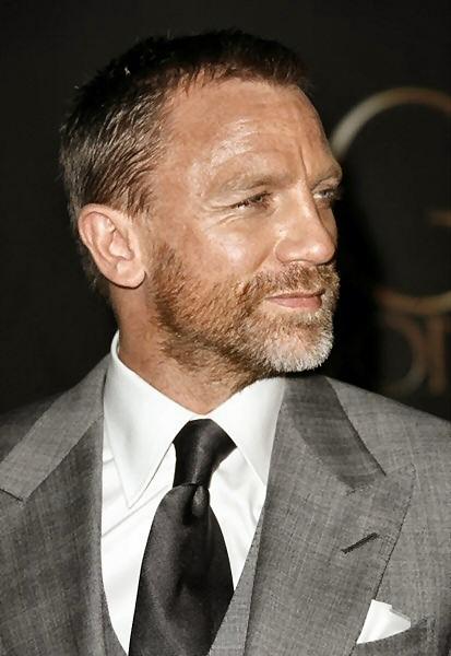 Daniel Craig HairStyle (Men HairStyles) - Men Hair Styles ...