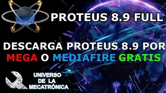 Descargar Proteus 8.9 SP2 Pro FULL 2020 - Mega - Mediafire