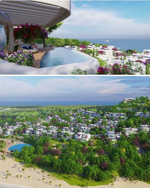 Dự án Sunshine Heritage Mũi Né Hòn Rơm Hill Resort phân khu Địa Trung Hải Mediterranean