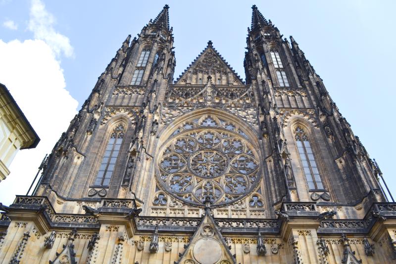 katerda w czeskiej pradze, katedra na hradczanach