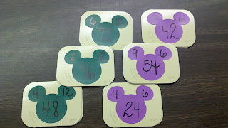Fern Smith's Classroom Ideas More FREE Ideas for Disney Paint Sample Flash Cards