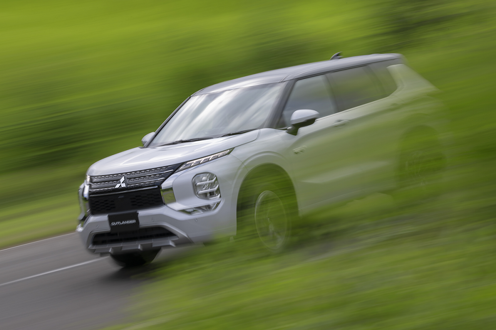 All-new Mitsubishi Outlander PHEV to adopt an evolved All-Wheel Control technology