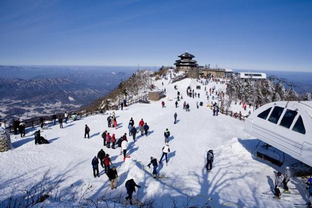 du lịch mùa đông Hàn Quốc 2