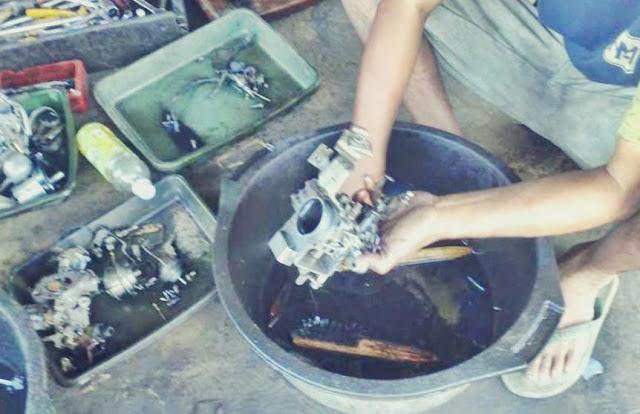 cara membersihkan karburator yang baik dan benar