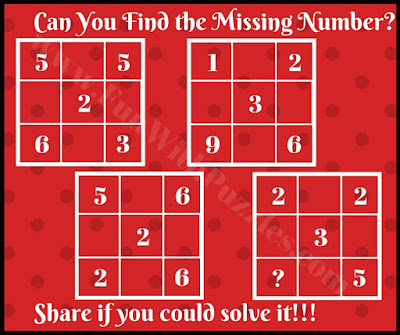 Fun math brain teaser picture puzzle