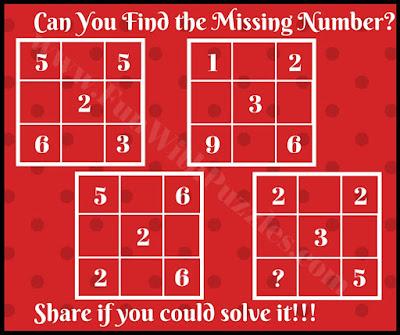 Fun math brain teaser picture puzzle