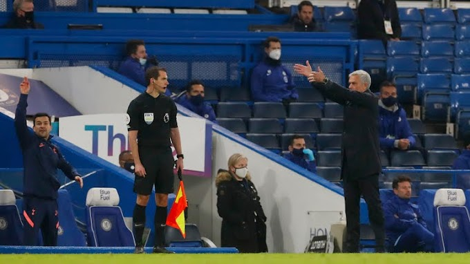 """""""We are not happy with a draw at Stamford Bridge"""" - Jose Mourinho"""