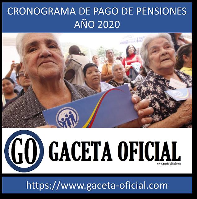 Fecha de pago de Pensión mes de Febrero 2020