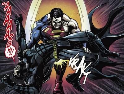 Batman es vencido por Superman en Injustice Gods Among Us