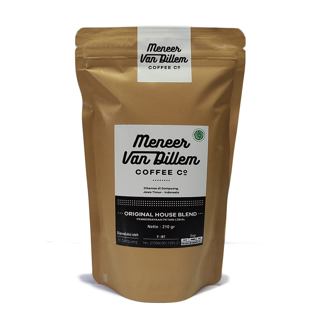 Kopi Meneer Van Dilem Original House Blend