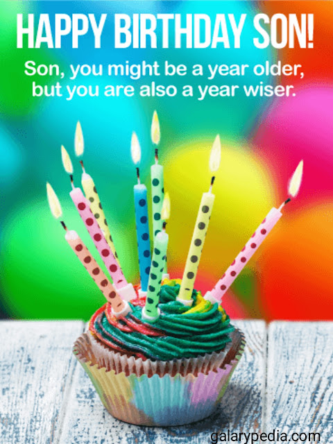 Son birthday images download