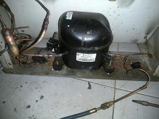penyebab kompresor kulkas mati hidup