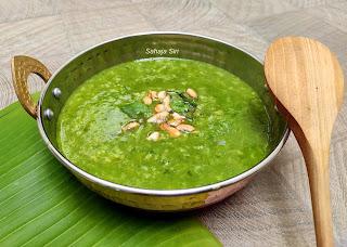 Spinach kichdi