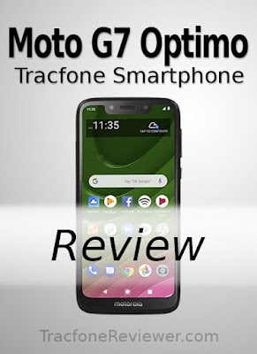 Tracfone moto g7 optimo xt 1952DL