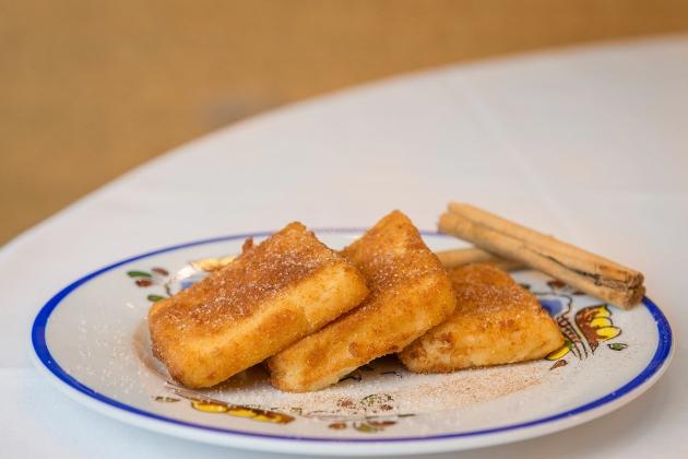 Leche frita castellana