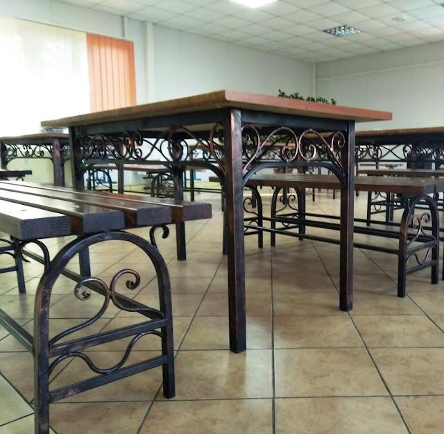 Набір стіл та 2 лавки