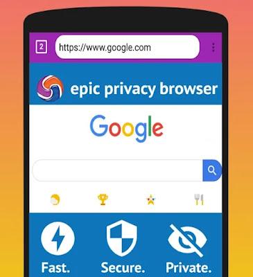 متصفح EPIC PRIVACY للأندرويد