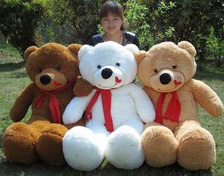 Boneka beruang love 19