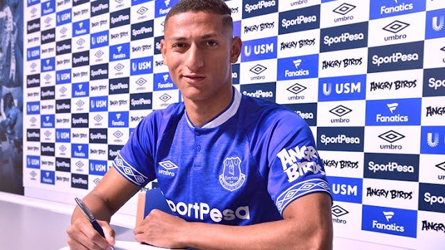 Richarlison has signed a new five-year contract with Everton