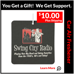 Swing City Radio Bumper Sticker