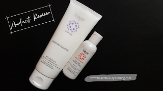 KAYA CLEANSER AND TONER PRODUCT REVIEW