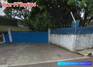 Lowongan Kerja PT Bapintri 2020 Jl Leuwigajah Cimahi