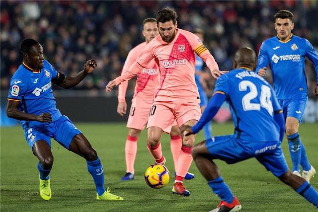 موعد ومعلق مباراة برشلونة وخيتافي القادمة والقنوات الناقلة في الدوري الإسباني