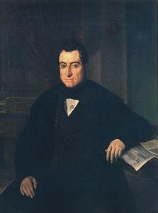 Bonaventura Carles Aribau (1844), oli de Joaquim Espalter i Rull (1809-1880), a la Reial Acadèmia Catalana de Belles Arts de Sant Jordi de Barcelona.