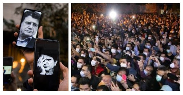 Iranians Mourn Mohammad Reza Shajarian With Protests