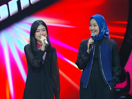 Anak Alya Rohali di The Voice Indonesia 2019