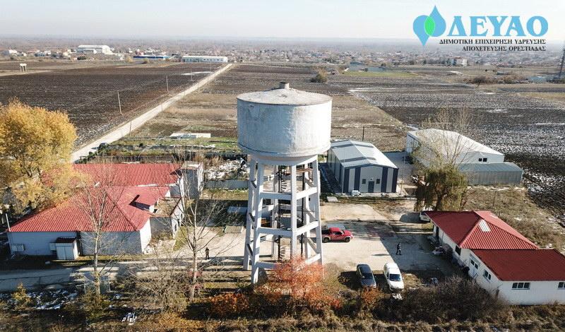 Εγκατάσταση συστήματος διαχείρισης και ελέγχου διαρροών στο δίκτυο ύδρευσης Ορεστιάδας