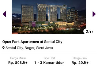 Opus Park Apartemen 0812 8969 2251