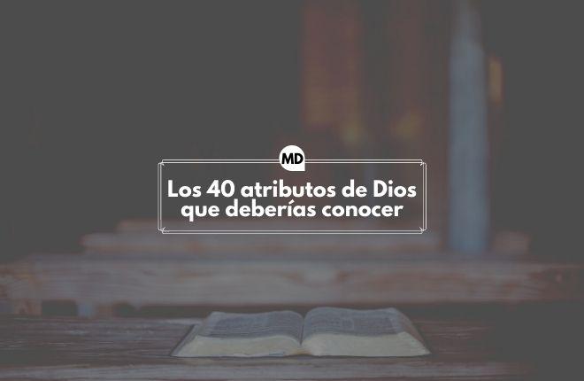 Atributos de Dios
