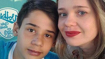 Mãe pede que não julguem filho morto em escola de Goiás