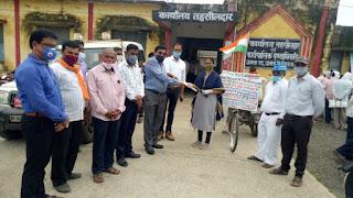 ओ बी सी के संवैधानिक हक अधिकार की आवाज़ आमला से निकलकर दिल्ली तक जाएगी:डॉ बी पी चौरिया