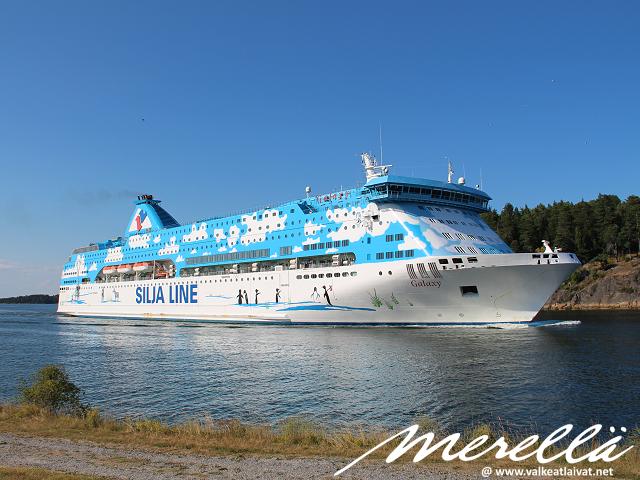 Tukholmaan laivalla kesällä 2020