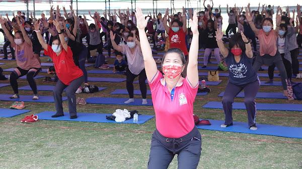 運動i臺灣女性運動年 彰化縣立體育場瑜珈體驗