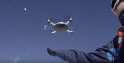 Drone que voa sozinho e segue utilizador - Camara filmar Automática