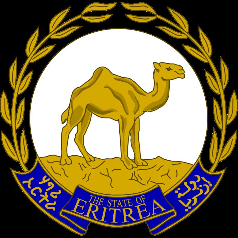 Logo Gambar Lambang Simbol Negara Eritrea PNG JPG ukuran 800 px