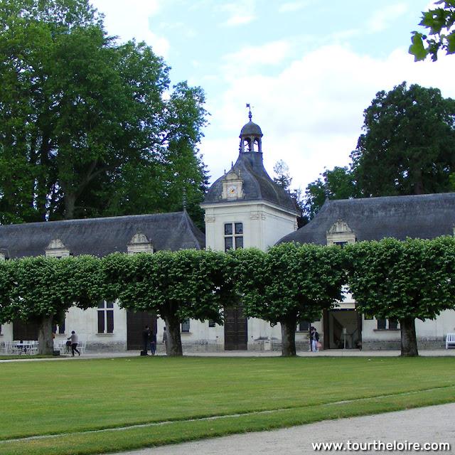 Galerie des Domes (stableblock), Chateau of Chenonceau. Indre et Loire. France. Photo by Loire Valley Time Travel.
