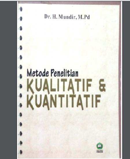 Buku Metode penelitian kualitatif dan kuantitatif  (Download PDF Gratis !!!!)