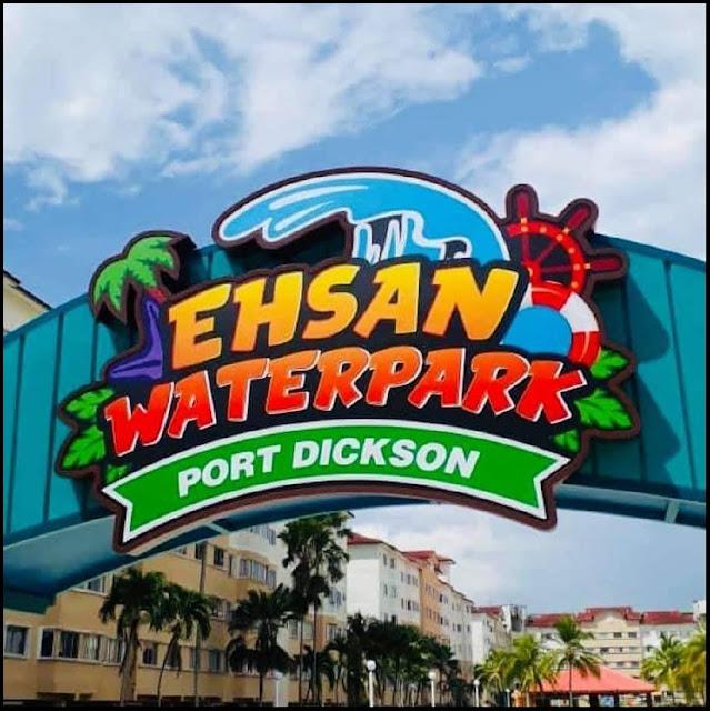 EHSAN WATERPARK Port Dickson yang dahulu dikenali sebagai Tiara Bay kini berwajah baru