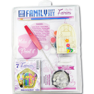 An affordable craft kit that includes paints and brushes as well as casting equipment to make fairies at home.