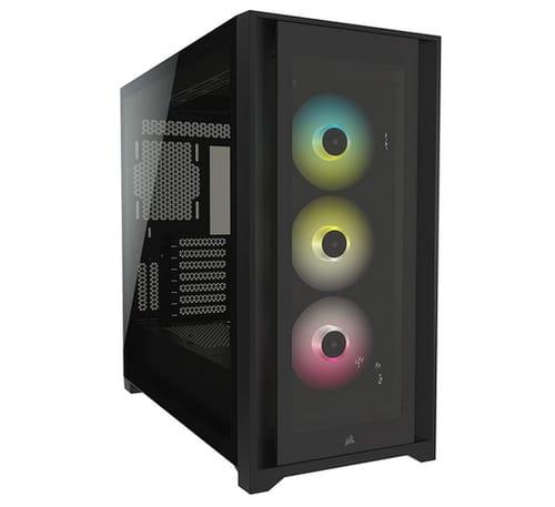 Corsair iCUE 5000X RGB Tempered Glass PC Smart Case