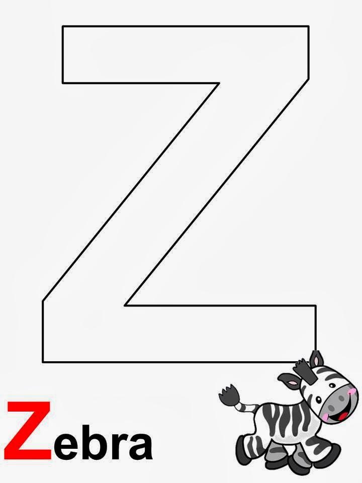 alfabeto zebra